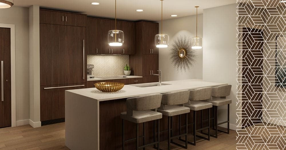 New Kitchen Condos at 102 Scenic Drive